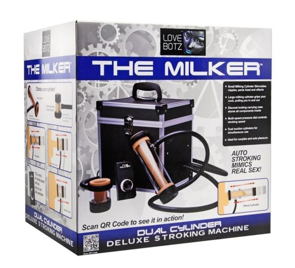 LOVEBOTZ MAQUINA SEXUAL THE MILKER
