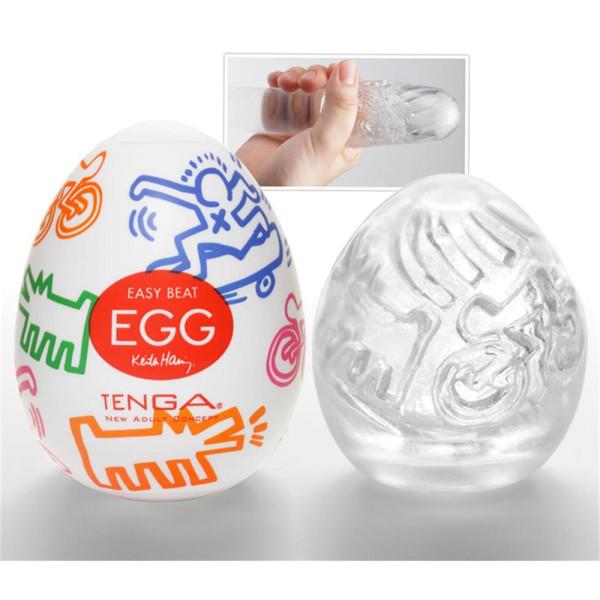 Tenga Egg - Street Keith Haring Masturbator