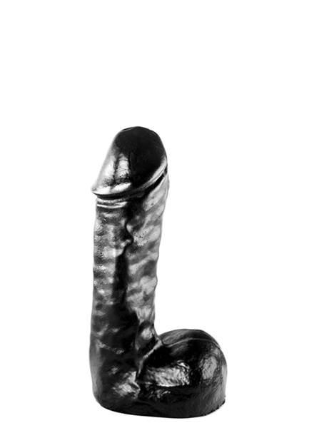 All Black Dildo 19 cm