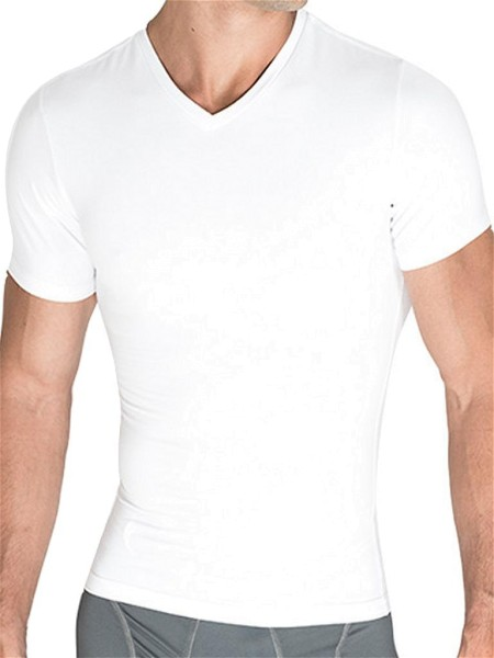 Rounderbum Compression T-Shirt Cotton White