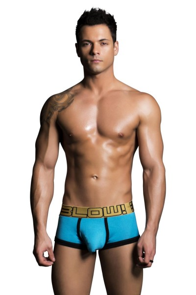 Andrew Christian - BLOW! Boxer w/ Almost Naked Turquoise