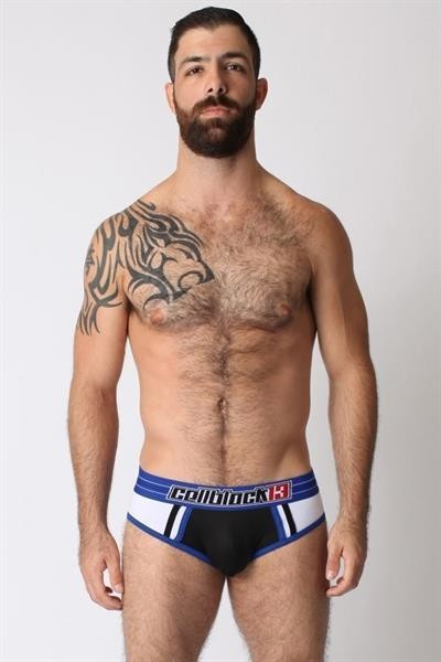 Cellblock 13 - Dugout Jock Brief - blau