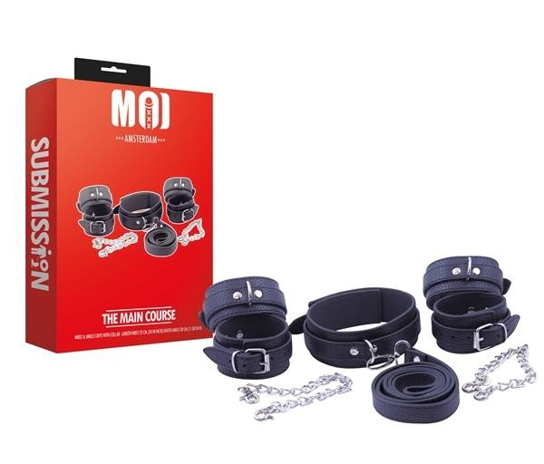 MOI The Main Course | Wrist & Ankle Cuffs With Collar