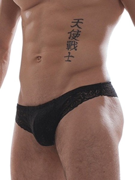 GBGB Raffy Lace Brief Underwear Black