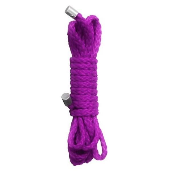 Ouch! Kinbaku Mini Bondage Seil - 1,5m - Purple