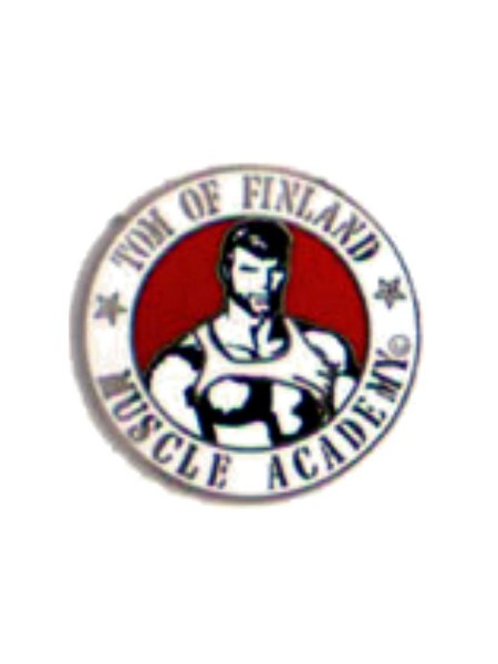 Pin Tom of Finland Muscle Academy