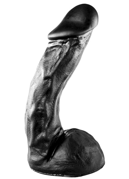 All Black Dildo 27,5 cm